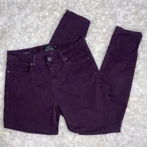 Lucky Brand Brooke Legging Jean Purple Pants